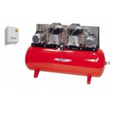 Компрессор поршневой с ременным приводом Fiac ABT 500-1700B/16 ТАНДЕМ (7.5кВт + 7.5кВт)